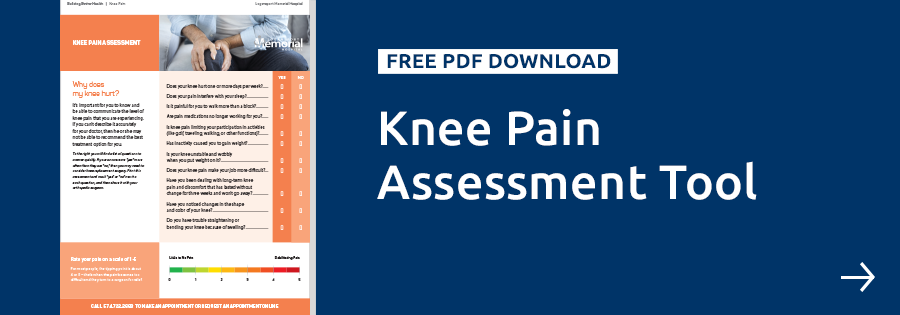 Logansport Memorial Knee Pain Assessment Tool